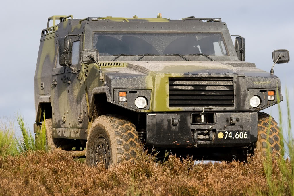 Armoured Vehicle Panels